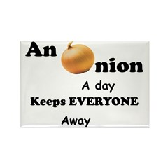 Onion A Day Rectangle Magnet (10 pack)