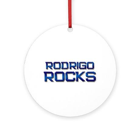 rodrigo rocks Ornament (Round)