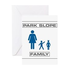 Park Slope Single Mom Greeting Card