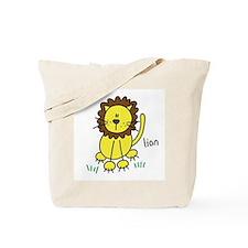 Cute Lion Tote Bag