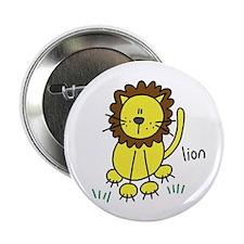 """Cute Lion 2.25"""" Button (100 pack)"""