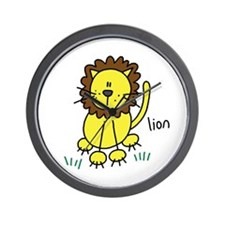 Cute Lion Wall Clock