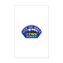 Brea Police Posters