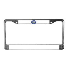 Brea Police License Plate Frame
