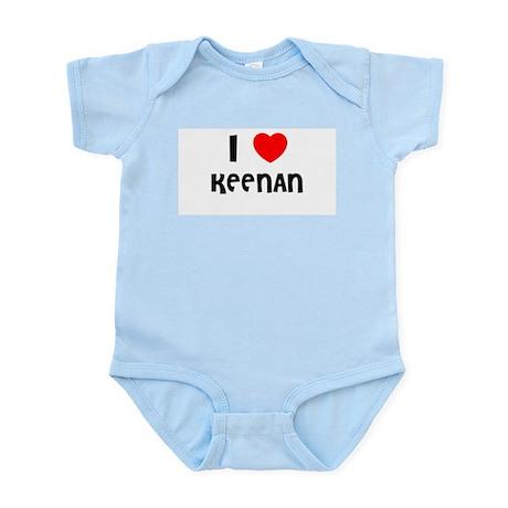 I LOVE KEENAN Infant Creeper