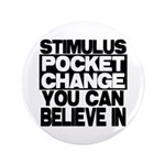 "Stimulus 3.5"" Button (100 pack)"