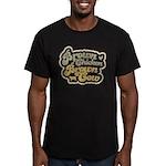 Brown Chicken Brown Cow Men's Fitted T-Shirt (dark