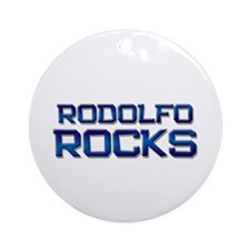 rodolfo rocks Ornament (Round)