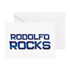 rodolfo rocks Greeting Card