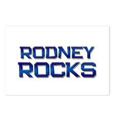 rodney rocks Postcards (Package of 8)