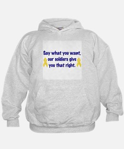 Soldiers Right Hoodie