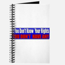 Know Your Rights Journal