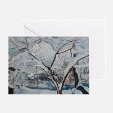 Crabapples in Winter Greeting Card