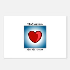 Midwives Are All Heart Postcards (Package of 8)