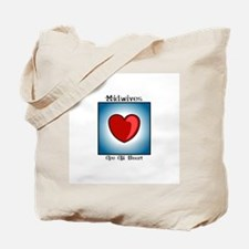 Midwives Are All Heart Tote Bag