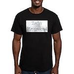 Zach's Playground Men's Fitted T-Shirt (dark)