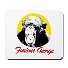FURIOUS GEORGE Mousepad