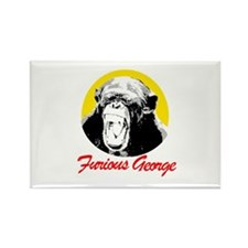 FURIOUS GEORGE Rectangle Magnet