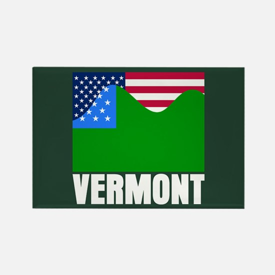 VERMONT - SECEDE? Rectangle Magnet
