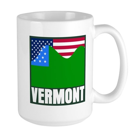 VERMONT - SECEDE? Large Mug