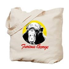 FURIOUS GEORGE Tote Bag