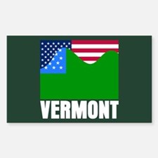 VERMONT - SECEDE? Rectangle Decal