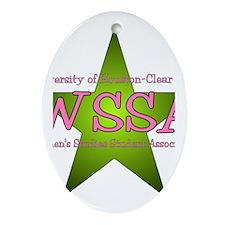 WSSA Oval Ornament