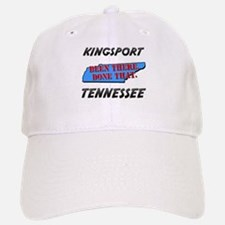 kingsport tennessee - been there, done that Baseball Baseball Cap