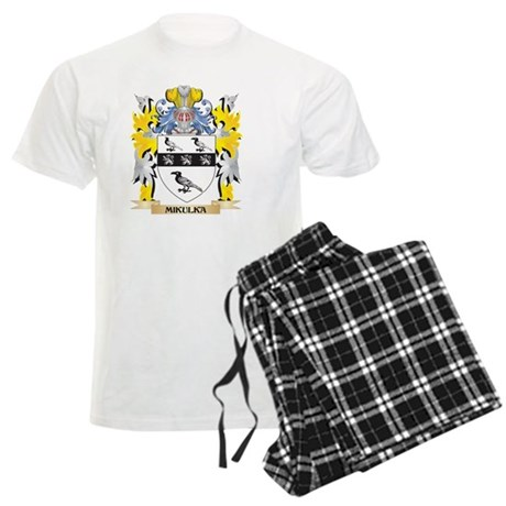 Mikulka Coat of Arms - Family Crest Pajamas