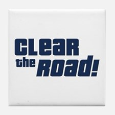 Clear the Road 16th Birthday Tile Coaster