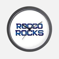 rocco rocks Wall Clock