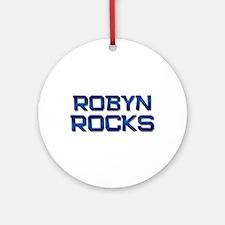 robyn rocks Ornament (Round)