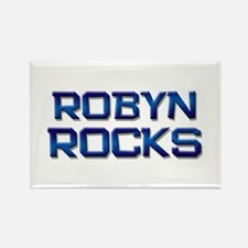 robyn rocks Rectangle Magnet