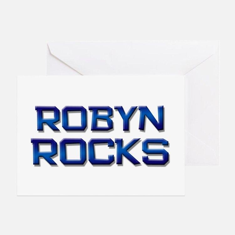 robyn rocks Greeting Card