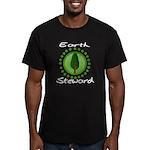 Earth Steward 2 Men's Fitted T-Shirt (dark)
