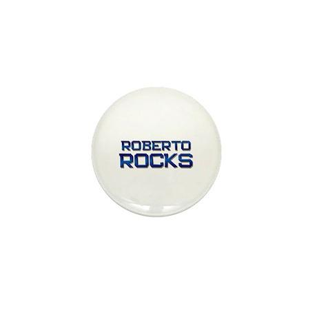 roberto rocks Mini Button (10 pack)