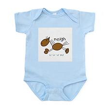 Brown Horse Infant Bodysuit