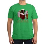 Beer and Sex Men's Fitted T-Shirt (dark)