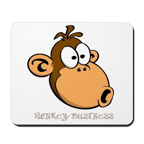 Monkey Business Mousepad