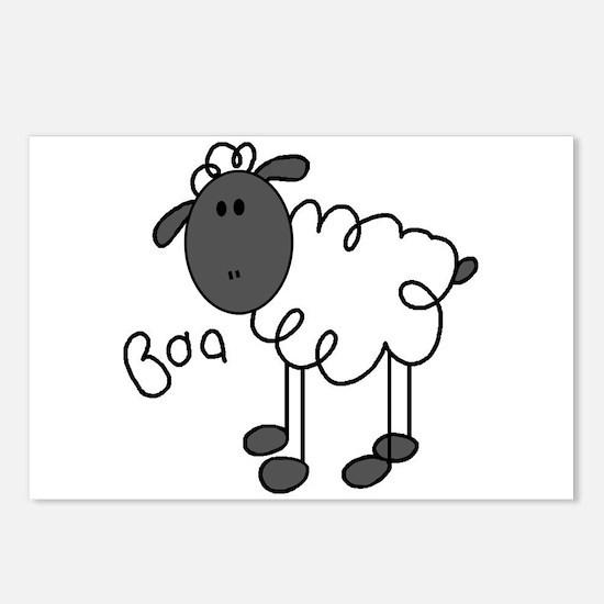 Baa Sheep Postcards (Package of 8)