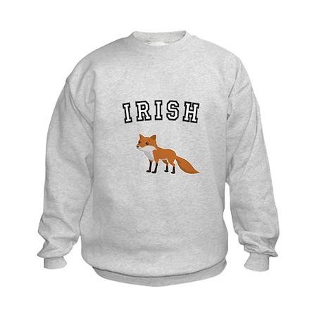 Irish Fox Kids Sweatshirt