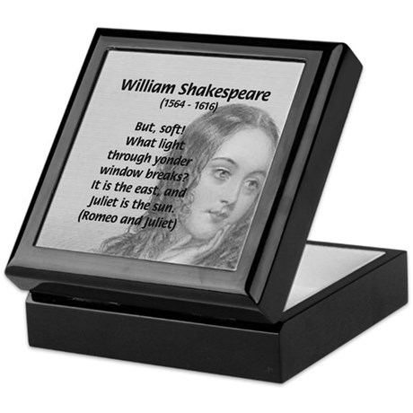 Tragic Love: Romeo and Juliet Keepsake Box