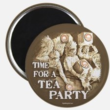 "Time for a Tea Party 2.25"" Magnet (10 pack)"