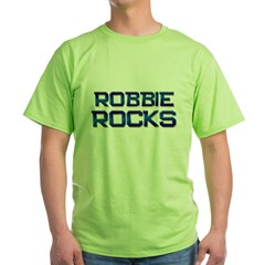 robbie rocks Green T-Shirt