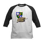 Army Ranger Beret Dagger Kids Baseball Jersey