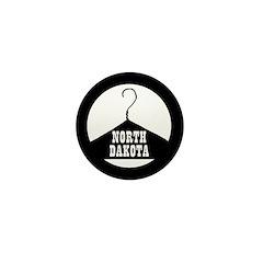 North Dakota Pro-Choice Mini Button