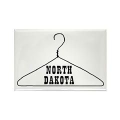 North Dakota Pro-Choice Rectangle Magnet