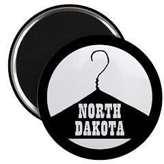 "North Dakota Pro-Choice 2.25"" Magnet (10 pack"