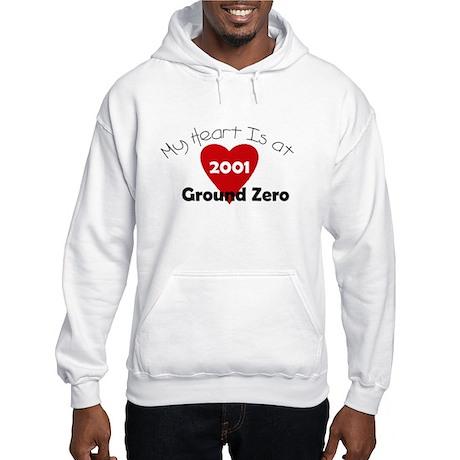 My Heart is at Ground Zero Hooded Sweatshirt