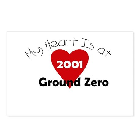 My Heart is at Ground Zero Postcards (Package of 8